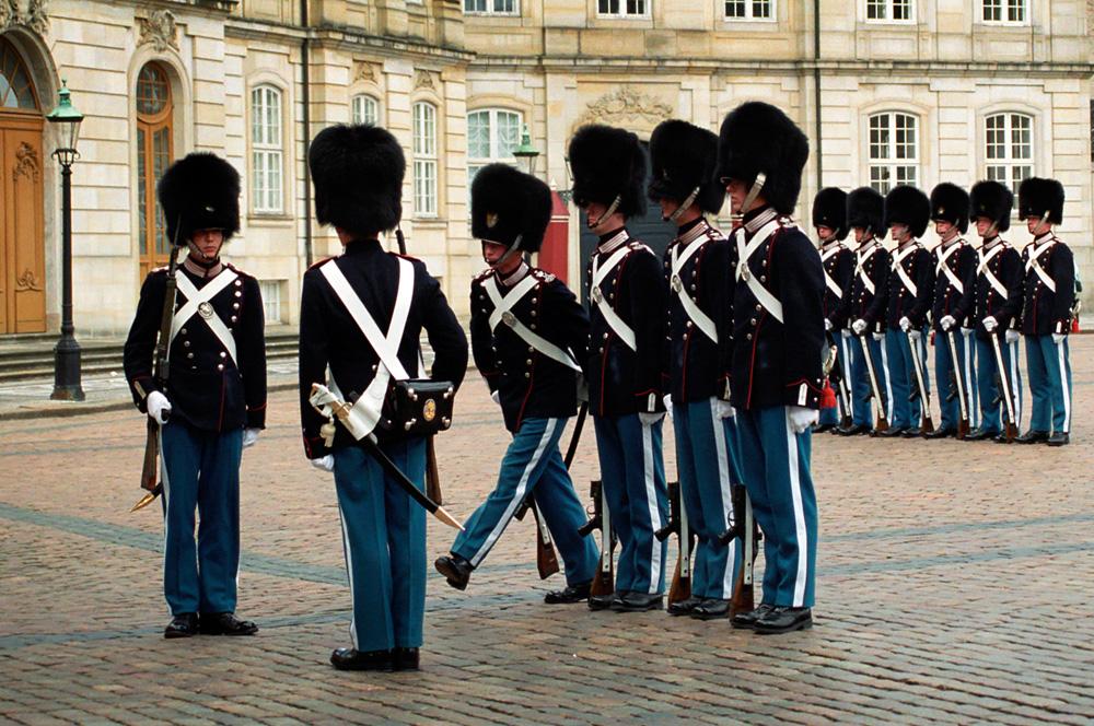 COPENHAGEN - Guard
